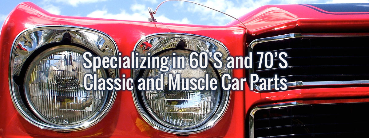 Bowtie Muscle Car Classic Car Auto Parts Store And Restorations - Muscle car parts